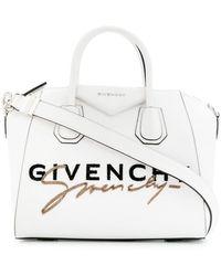Givenchy Signature Antigona Bag - White