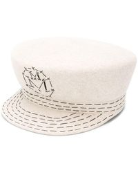 Maison Michel Abby Sailor Cap - Multicolour