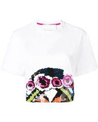 NO KA 'OI デコラティブ Tシャツ - ホワイト