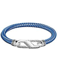 John Hardy - Bracelet Classic Chain en argent à détail de corde - Lyst