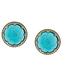 Iosselliani | Elegua Turquoise Clip-on Earrings | Lyst