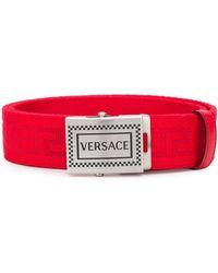 Versace Gürtel mit Prägung - Rot