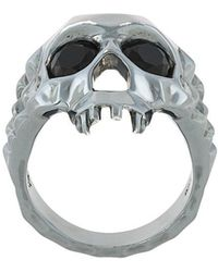 Kasun - Vampire Skull Ring - Lyst