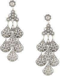Gas Bijoux Orferia Earrings - Metallic