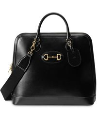 Gucci 1955 Horsebit Duffle Bag - Black