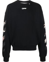 Off-White c/o Virgil Abloh - Caravaggio Arrows Sweatshirt - Lyst