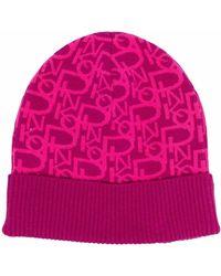 Pinko ロゴパターン ビーニー - ピンク