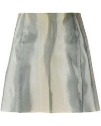 Giorgio Armani - Minifalda ajustada - Lyst
