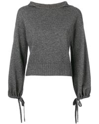 Vince - Balloon Sleeve Sweater - Lyst
