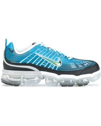 Nike Серые Кроссовки Air Vapormax 360-серый - Синий