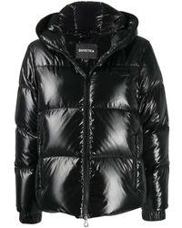 Duvetica フーデッド パデッドジャケット - ブラック