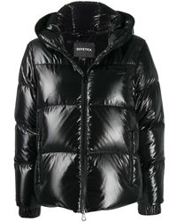 Duvetica Hooded Puffer Jacket - Black