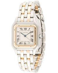 Cartier Наручные Часы Panthere Pre-owned 25 Мм 1990-х Годов - Металлик