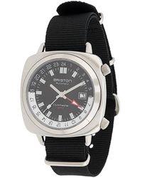 Briston Clubmaster Gmt Horloge - Zwart