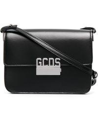 Gcds レザーショルダーバッグ - ブラック