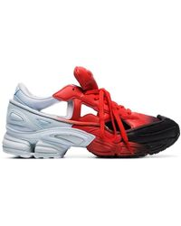 adidas By Raf Simons Rs Replicant Ozweego Trainers - Red