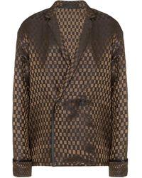 Haider Ackermann オーバーサイズ ジャケット - ブラウン