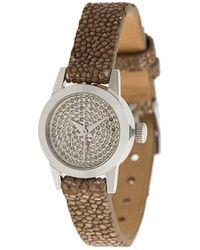 Christian Koban Cute Diamond Watch - Metallic