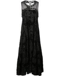 Rochas - フローラルブロケード ドレス - Lyst