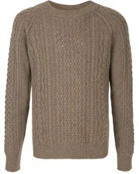 Kent & Curwen Chunky Knitted Sweater - Green