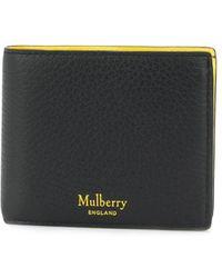 Mulberry Portemonnaie mit Klappe - Schwarz