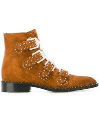 Givenchy - Elegant Studded Boots - Lyst