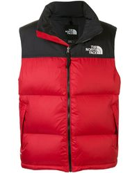 The North Face Gilet matelassé Retro Nuptse - Rouge