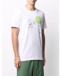 Societe Anonyme Sketch-print T-shirt - White