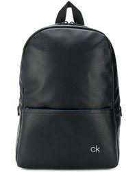 Calvin Klein Sac à dos à logo - Noir
