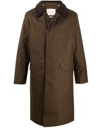 Mackintosh チェック シングルコート - マルチカラー