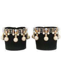 Rada' - Embellished Bracelet Cuffs - Lyst