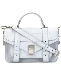 Proenza Schouler Tiny Ps1 Satchel - Gray