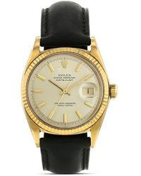 Rolex Reloj Oyster Perpetual Date de 34mm 1993 pre-owned - Metálico
