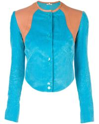 Nina Ricci - Cropped Fitted Jacket - Lyst