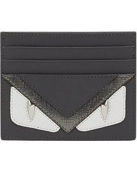 Fendi - Bag Bugs-appliqué Card Holder - Lyst