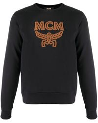 MCM Толстовка С Вышитым Логотипом - Черный