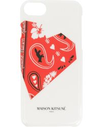 Maison Kitsuné - Printed Style Iphone 8 - Lyst