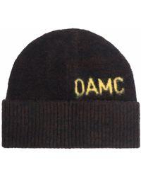 OAMC Mütze mit Logo - Braun