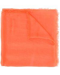 Faliero Sarti Zijden Sjaal - Oranje