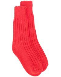 The Elder Statesman | Cashmere Yosemite Socks | Lyst
