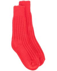 The Elder Statesman - Cashmere Yosemite Socks - Lyst