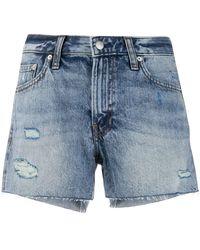 Calvin Klein Pantalones vaqueros cortos - Azul