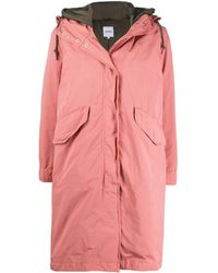 Aspesi Two-pocket Hooded Parka - Pink