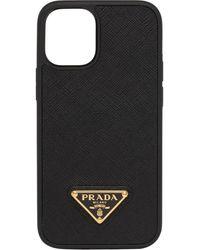Prada Iphone 12 Mini ケース - ブラック