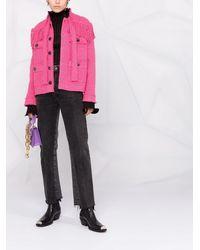 Pinko フリンジディテール ジャケット - ピンク