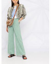 Forte Forte Jeans mit weitem Bein - Grün