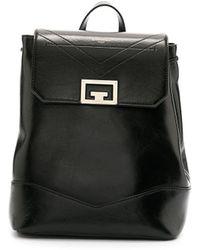 Givenchy G4 キルティング バックパック - ブラック