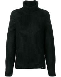 Carhartt WIP タートルネック セーター - ブラック