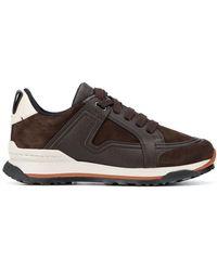 Ermenegildo Zegna Siracusa Low-top Sneakers - Bruin