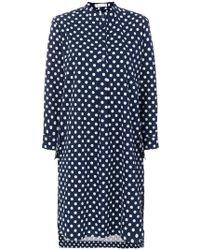Peter Jensen - Polka Dot Shirt Dress - Lyst